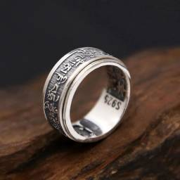 Anel prata pura de lei Italiana 925