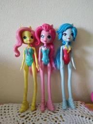 Vendo três bonecas my little pony