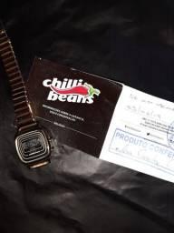 Relógio chili beans original