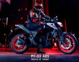 Yamaha MT 03 ABS 2021/2022 Modelo novo!