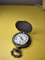 Relógio de Bolso Coruja de ponteiro retrô