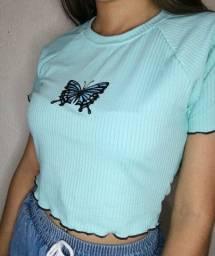Cropped borboleta