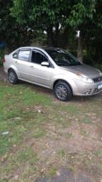 Vendo Ford Fiesta Sedan 1,6 Flex Ano 2009 Completo Revisado Com Cent Mult Midia