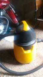 Aspirado de pó e água electrolux