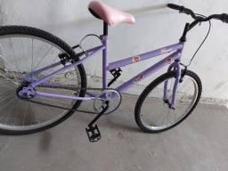 Bicicleta aro 24 super linda - entrego se não for longe