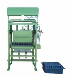Máquina para fazer Bloco, Canaleta e Piso de concreto