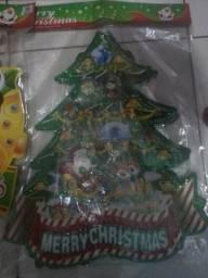 Christmas ornament e toalha de mesa de natal