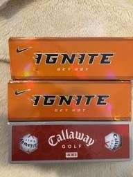 Bolas de golfe NOVAS CALLAWAY e IGNOTE GET HOT