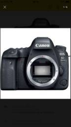Vendo câmera canon 6d mark2