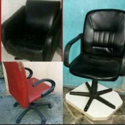 Cadeiras giratórias Leia