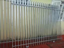 Grades e portões de metalon galvanizado,r$ 120 m 2