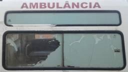 Vidros fiorino Ambulância