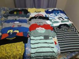 18 camisetas