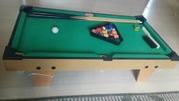 Jogo mesa mini bilhar sinuca snooker