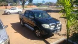 Toyota Hilux 2005/2006 Preta 3.0 4x4 - 2006