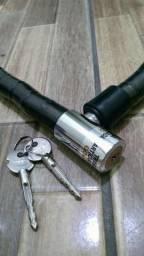 Cadeado corrente para moto novo