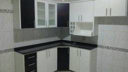 Armário de cozinha + Gabinete com pia 100% MDF
