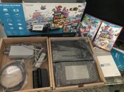 Nintendo Wii U 32gb edição Delux Set Mario 3D