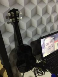 ukulele soprano semi novo
