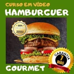 Receitas Fantásticas (Curso em vídeo) de Hamburguer e sandubas Gourmet