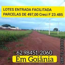Compre Seu Lote em Goiânia antes da barreira Polícial saída para Trindade  Creci F 23.485