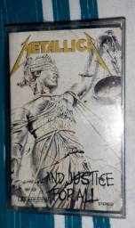 FITA CASSETE METALLICA AND JUSTICE FOR ALL