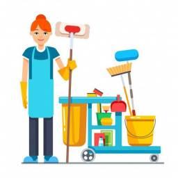 Auxiliar de Limpeza - Barreiros