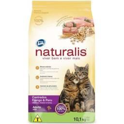 Ração pra Gatos Castrados Naturalis Frango e Peru 10 kg