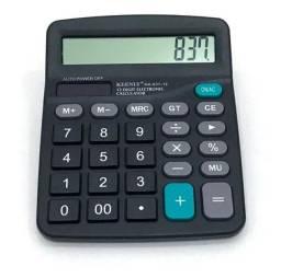 Calculadora de mesa nova.