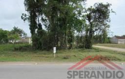 Terreno de esquina c/ 384m² de frente p/ asfalto Rua 1570 - Baln. Itapoá