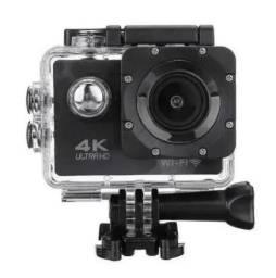 Camera filmadora de ação Esportiva Sports 4K c/ Wifi