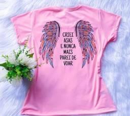 T-shirt, Estampada - Criei Asas