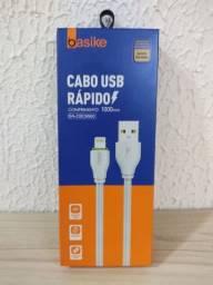 Cabo reforçado para iPhone de 1m Basike