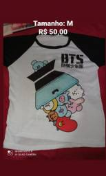 Camisas BTS