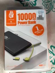 Carregador portátil de 10000 power bank