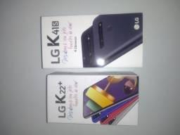 Celular LG k22+ e k41s  novos lacrado