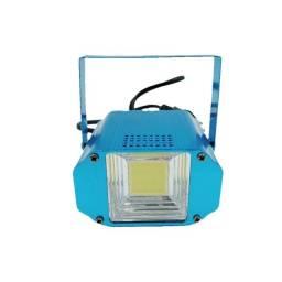 Mini Strobo Laser Led Luz Branca Xênon 20w Efeito Flash