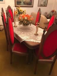 Vendo conjunto de móveis jantar e estar