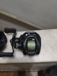 Kit de pesca Vara Albatroz Santiago e carretilha Daiwa Tatula 100, usado comprar usado  Rio de Janeiro