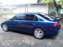 Civic Lx 2002 1.7 novo 16500 .hoje 15500