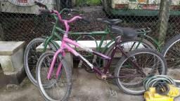 Bicicletas na rua da Eval
