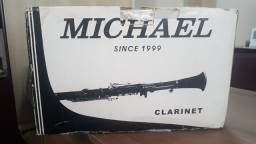 Clarinete Michael MCLM48 - Case Luxo + Metodo de Clarinete