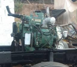 Motor diesel detroit 3.71 2 tempos semi novo era gerador emergencia