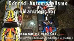 Venda e Manutenção em automodelos eletricos e a combustão