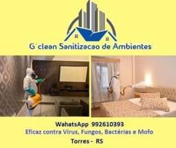 Sanitização e Desinfecção de Ambientes Internos