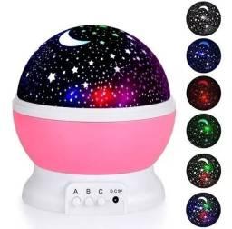Projetor Lumina?ria Abajur Estrelas Galaxy 360º Star Master