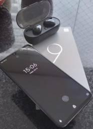 Xiaomi MI 9 128GB + Fone Ouvido bluetooth JBL