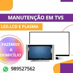 Consertos de tv Smart Led/Oled/LCD/plasma