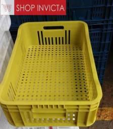 Caixa Agrícola Plástico Reciclável PLA-30 Consultar Cor No Estoque Novas Nfe