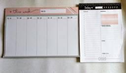 Planner semanal e diário
